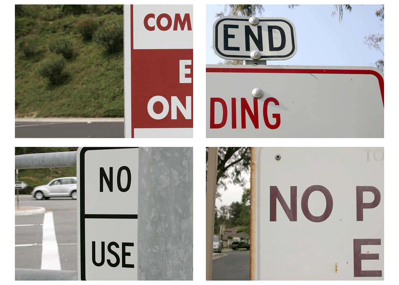 Detournement of Street Signs by Chris Girard