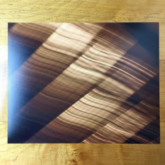 Gold Waves Photograph on 8×10″ Matte Paper